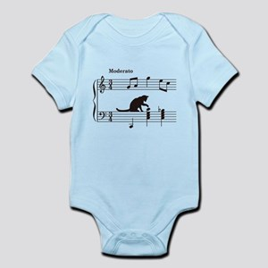 Cat Toying with Note v.2 Infant Bodysuit