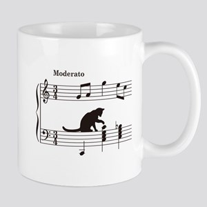 Cat Toying with Note v.2 Mug