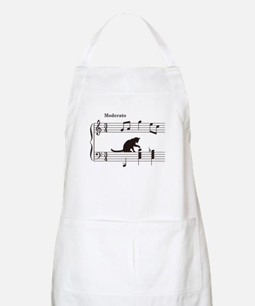 Cat Toying with Note v.2 Apron