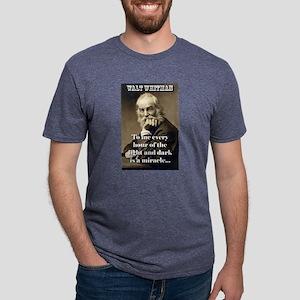 To Me Every Hour - Whitman Mens Tri-blend T-Shirt