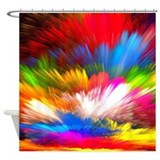 Abstract clouds Shower Curtains