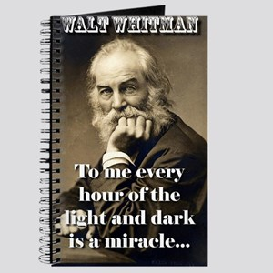 To Me Every Hour - Whitman Journal