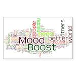 Mood Boost Fun Logo Sticker