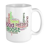 Mood Boost Fun Logo Mugs