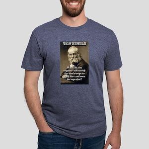 What Do You Suppose - Whitman Mens Tri-blend T-Shi