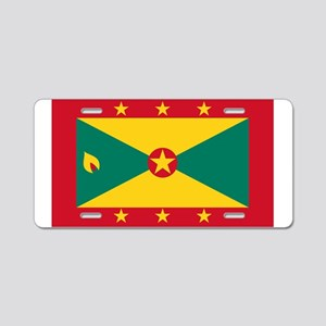 Flag of Grenada Aluminum License Plate