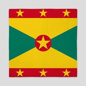 Flag of Grenada Queen Duvet