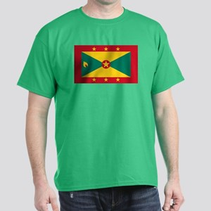 Flag of Grenada Dark T-Shirt