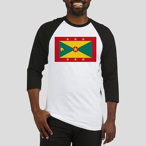 Flag of Grenada Baseball Jersey