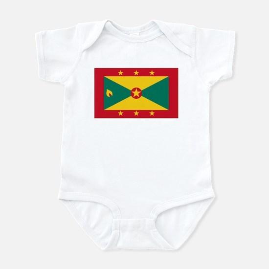 Flag of Grenada Infant Bodysuit