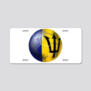 Barbados Football Aluminum License Plate