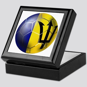 Barbados Football Keepsake Box