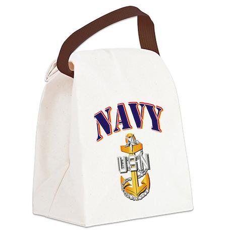 Navy - NAVY - SCPO Canvas Lunch Bag
