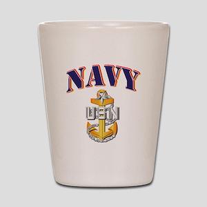 Navy - NAVY - SCPO Shot Glass