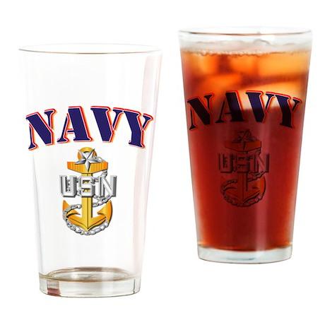 Navy - NAVY - SCPO Drinking Glass