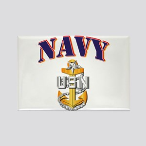 Navy - NAVY - SCPO Rectangle Magnet
