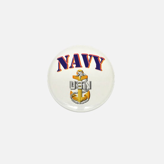 Navy - NAVY - SCPO Mini Button
