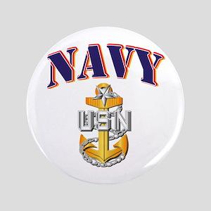 """Navy - NAVY - SCPO 3.5"""" Button"""
