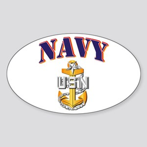 Navy - NAVY - SCPO Sticker (Oval)