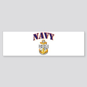 Navy - NAVY - SCPO Sticker (Bumper)