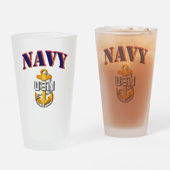 Navy - NAVY - CPO Drinking Glass