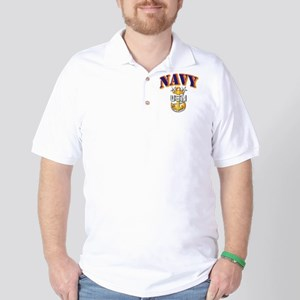 Navy - NAVY - MCPO Golf Shirt