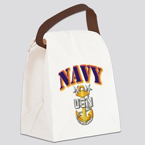 Navy - NAVY - MCPO Canvas Lunch Bag