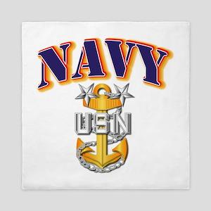 Navy - NAVY - MCPO Queen Duvet