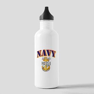 Navy - NAVY - MCPO Stainless Water Bottle 1.0L