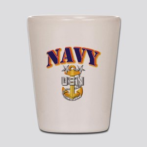 Navy - NAVY - MCPO Shot Glass