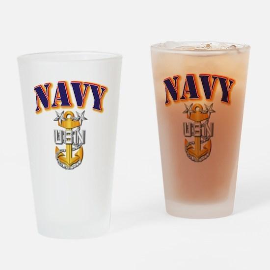 Navy - NAVY - MCPO Drinking Glass