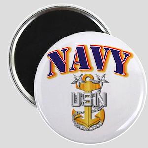 Navy - NAVY - MCPO Magnet