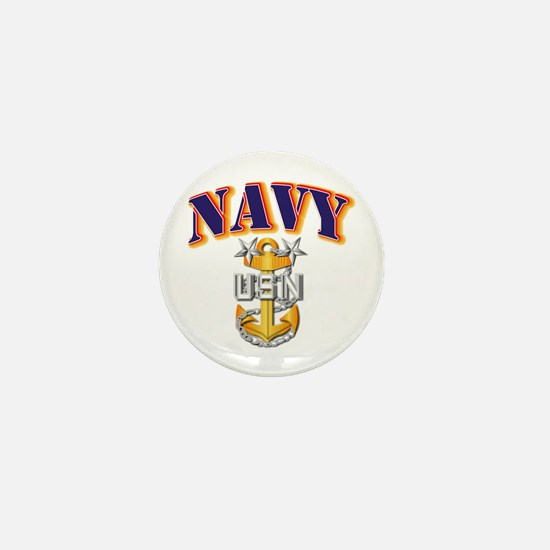 Navy - NAVY - MCPO Mini Button