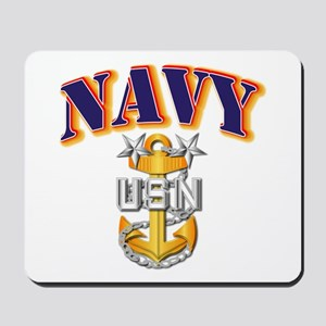 Navy - NAVY - MCPO Mousepad