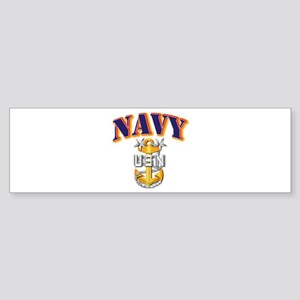 Navy - NAVY - MCPO Sticker (Bumper)