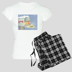 Warm, snowy snuggle Pajamas