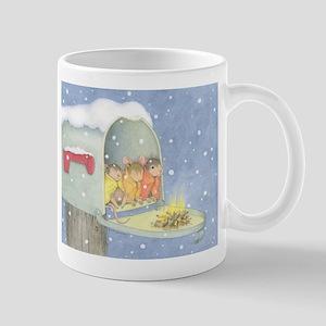 Warm, snowy snuggle Mug