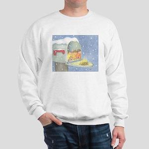 Warm, snowy snuggle Sweatshirt