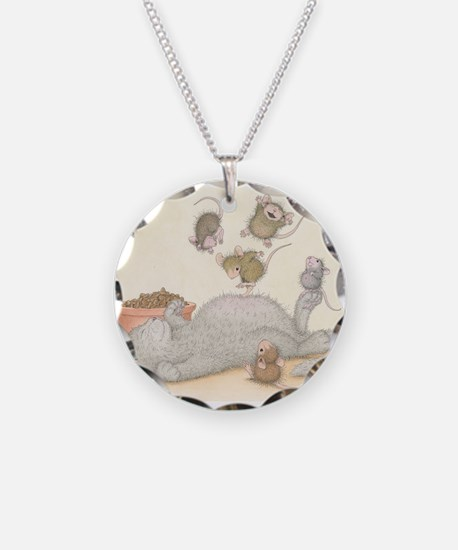 Kitty Trampoline Necklace