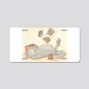 Kitty Trampoline Aluminum License Plate
