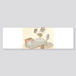 Kitty Trampoline Bumper Sticker