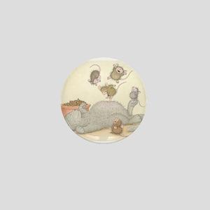 Kitty Trampoline Mini Button