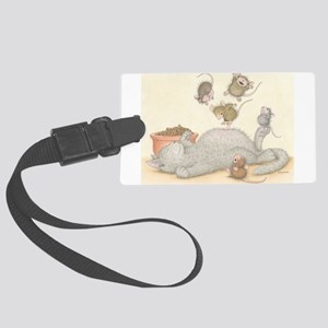 Kitty Trampoline Luggage Tag
