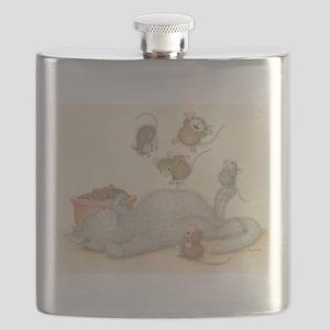 Kitty Trampoline Flask