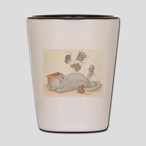 Kitty Trampoline Shot Glass