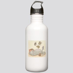 Kitty Trampoline Water Bottle