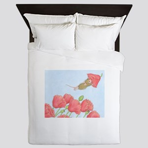 Poppy Power Queen Duvet