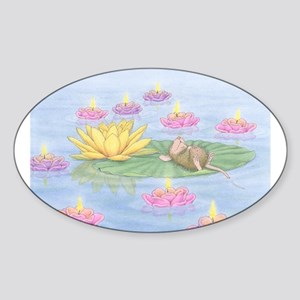 Lily Pad Snooze Sticker
