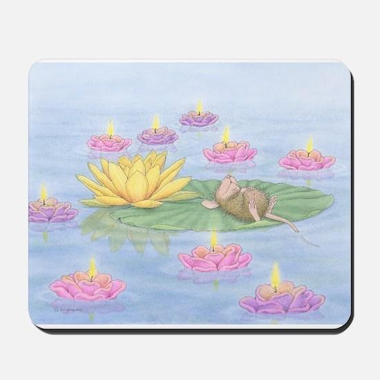 Lily Pad Snooze Mousepad