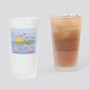 Lily Pad Snooze Drinking Glass